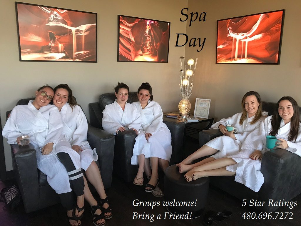 Bachelorette Party | Bachelorette Spa Deals | Inspire Spa | Scottsdale, AZ